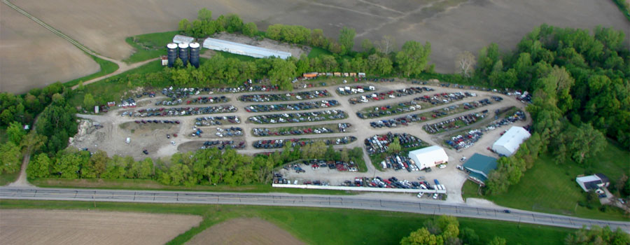 Car Recyclers, Inc.: automotive recycler and salvage yard with over 14 acres of used auto parts available